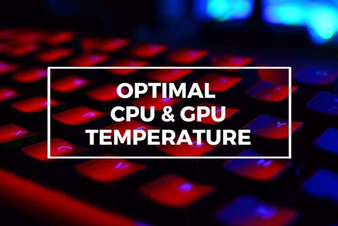 CPU and GPU temperatures